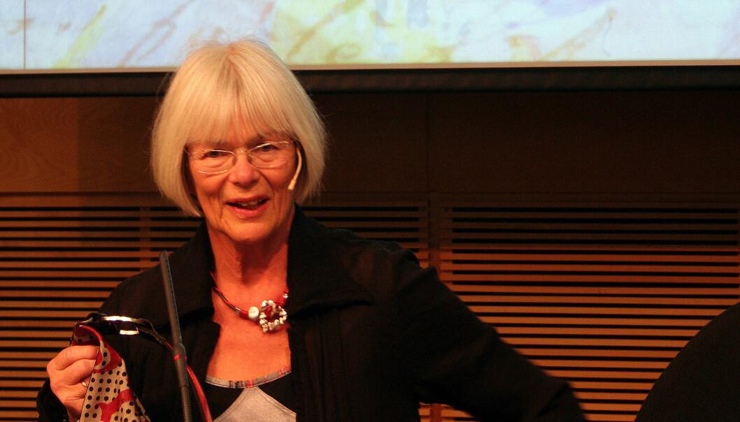 Tora Aasland. (Foto: Asle Rønning)