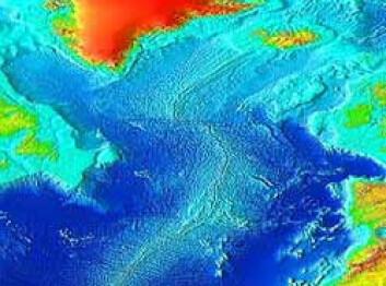 """""""Atlanterhavsryggen er en slags sammenhengende fjellkjede med aktive vulkaner under havet, i skillet mellom den eurasiske og den nordamerikanske kontinentalplaten."""""""