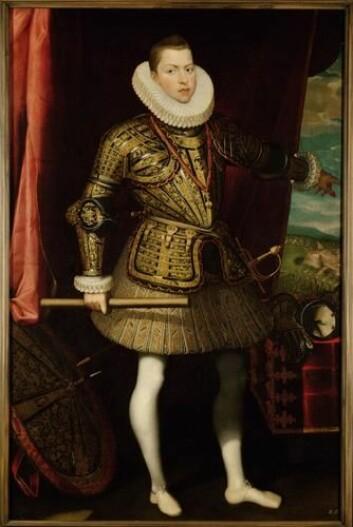"""Kong Filip III av Spania (1598-1621) Kunstner: Juan Pantoja de la Cruz, 1601. (Foto: Wikimedia Commons)"""