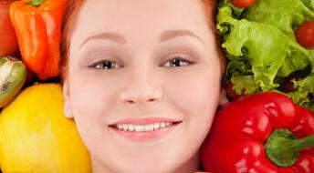 Grønnsaker gir sexy hudfarge