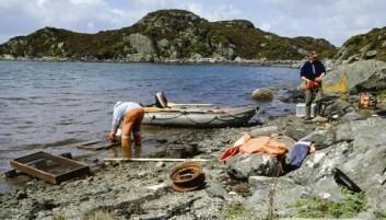 Kulturminner under vann og i fjæra er blitt stemoderlig behandlet og har fått lite oppmerksomhet regionalt og nasjonalt. (Foto: Arkeologisk museum, UiS)