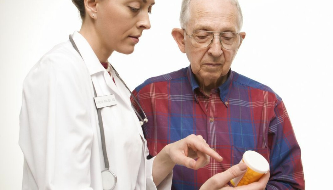 Eldre står for en tredjedel av alle legemidler som blir skrevet ut. Foto: Shutterstock.com