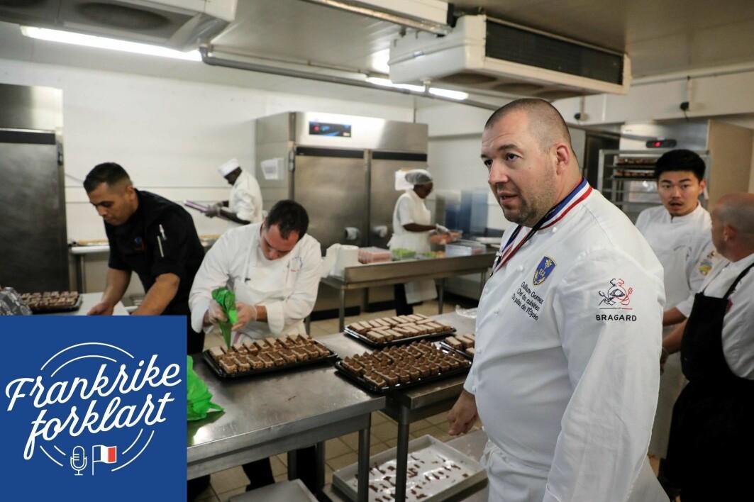 Guillaume Gomez er tidligere sjefskokk i Elyséepalasset, den franske presidentens residens. Gomez er ikke i tvil om at mat spiller en avgjørende rolle i forholdet mellom stater – i alle fall mellom Frankrike og deres inviterte.