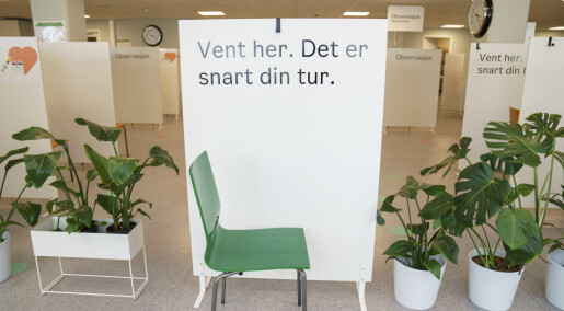 Smittetoppen i Norge kan være passert