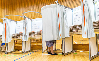 Hvem stemmer på Erna?