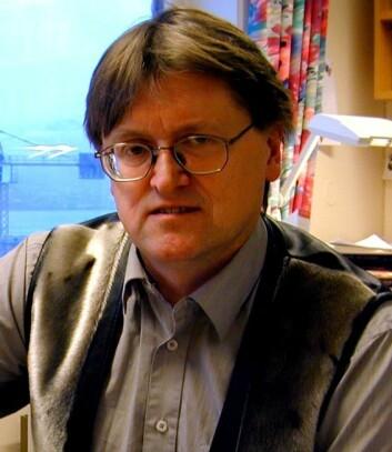 """Historieprofessor Hallvard Tjelmeland."""