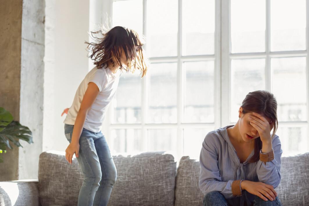 Konflikter oppstår lett når barn og foreldre er slitne, trøtte, stresset eller nedfor.
