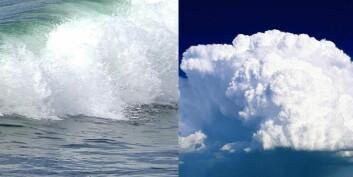 Med klimarom-metoden kan forskerne bestemme bølge- og vindklima i en fjord. (Foto: Arkeologisk museum, UiS)