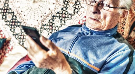 Smarttelefonen er ikke smart nok for eldre