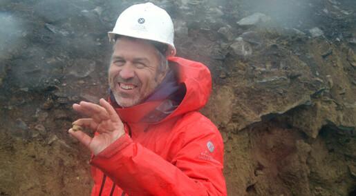 Forskarar grev seg tilbake millionar av år