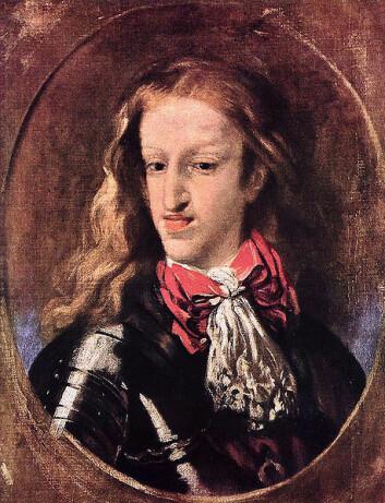 """KongKarl II (1665-1700). (Foto: Wikimedia Commons)"""