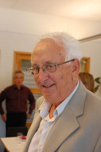 Johan P. Olsen fylte 70 år 14. august.
