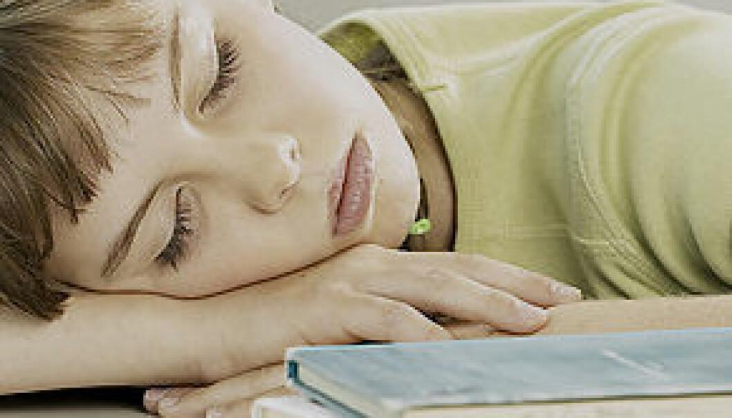 Lydhør under dyp søvn