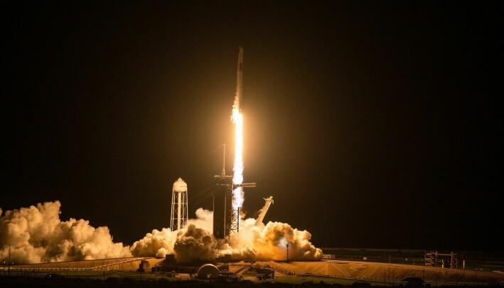 Natt til torsdag denne uken ble romfartøyet Inspiration4 skutt ut i verdensrommet.