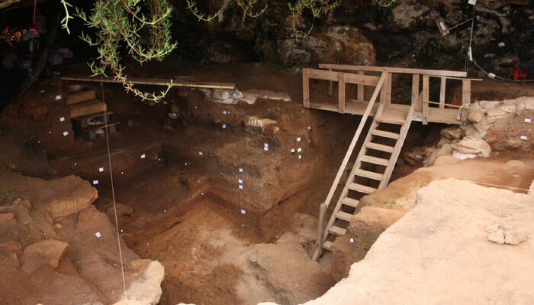 Contrebandiers-hulen ligger ved kysten av Marokko.