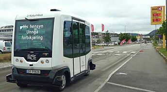 Plutselige stopp og andre trafikanter er de største farene for selvkjørende busser