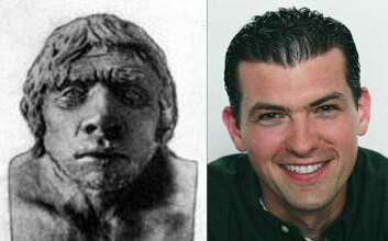 """""""Rent anatomisk er det ingen store forskjeller på neandertaleren og det moderne mennesket."""""""