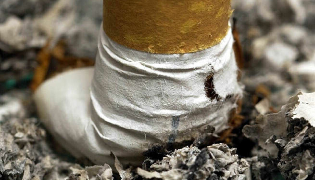 Røykevaksine like om hjørnet