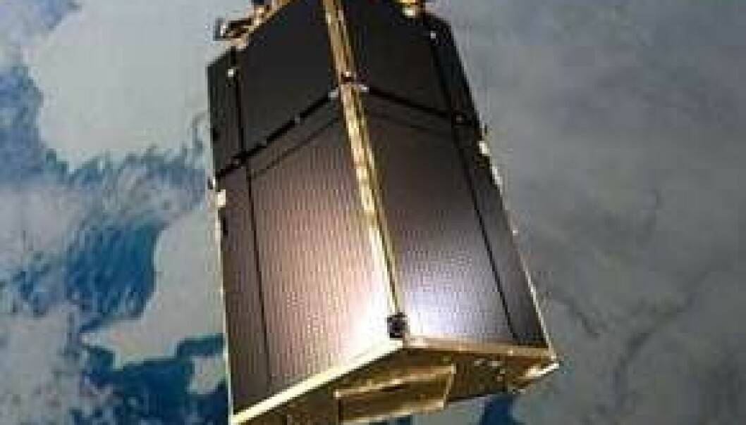 Is-satellitten er tilbake