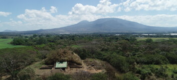 Denne Maya-pyramiden ble bygget på vulkansk stein kort tid etter enormt vulkanutbrudd