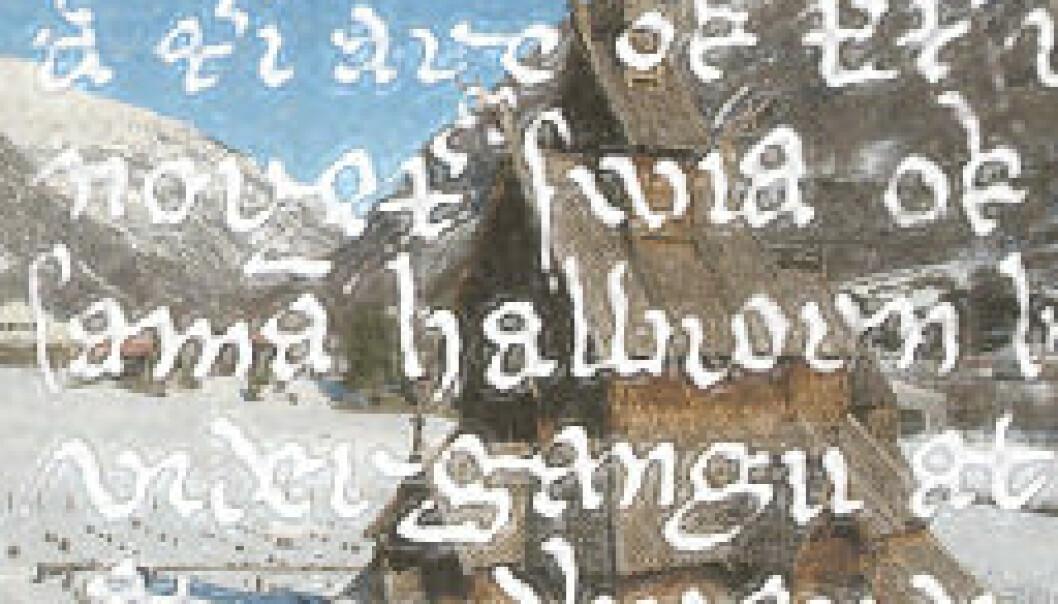 Dialekten i Nord-Gudbrandsdalen har trekk fra gammelnorsk. (Illustrasjon: Annica Thomsson)