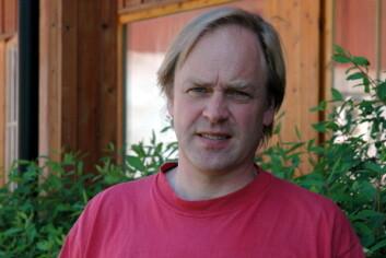 Prosjektleder Gustav Fystro, Bioforsk Øst. (Foto: Jon Schärer)
