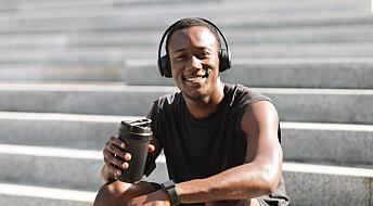 Drikk kaffe og løp raskere!