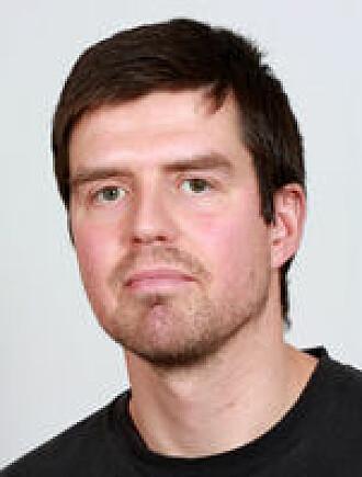 David Wragg forsker på ny batteriteknologi.