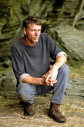 """Arkeolog Knut Andreas Bergsvik."""