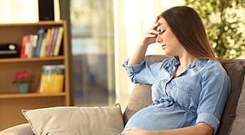 Forskere advarer: Gravide bør ta så lite paracet som mulig