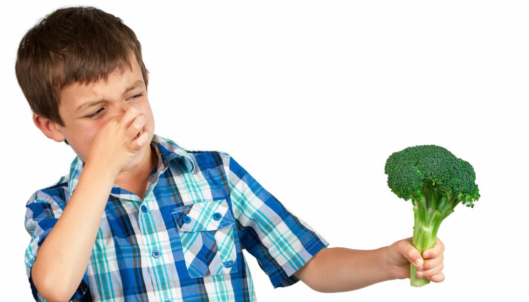 Får du beskjed om å spise opp brokkolien på tallerkenen din? Det er ikke sikkert det er så fristende hvis du har et spesielt stoff i spyttet ditt.