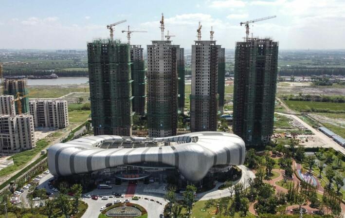 Evergrande Cultural Tourism City er et byggeprosjekt som nå har stoppet opp. Prosjektet i Jiangsu-provinsen skulle tilby innbyggerne både boliger og underholdning. Investorer i prosjektet ble lovet høy avkastning på pengene sine.