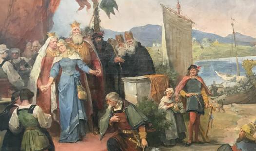 Hvordan rekonstruere drakten til en middelalderprinsesse?