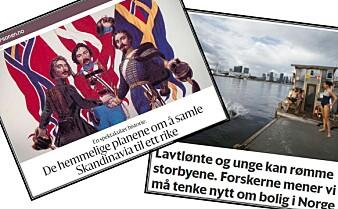 Forskningspodden: En ny, norsk boligpolitikk og mislykkede planer om en skandinavisk stat