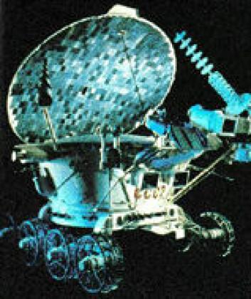 """Månebilen Lunokhod-2. Bilde: NASA"""