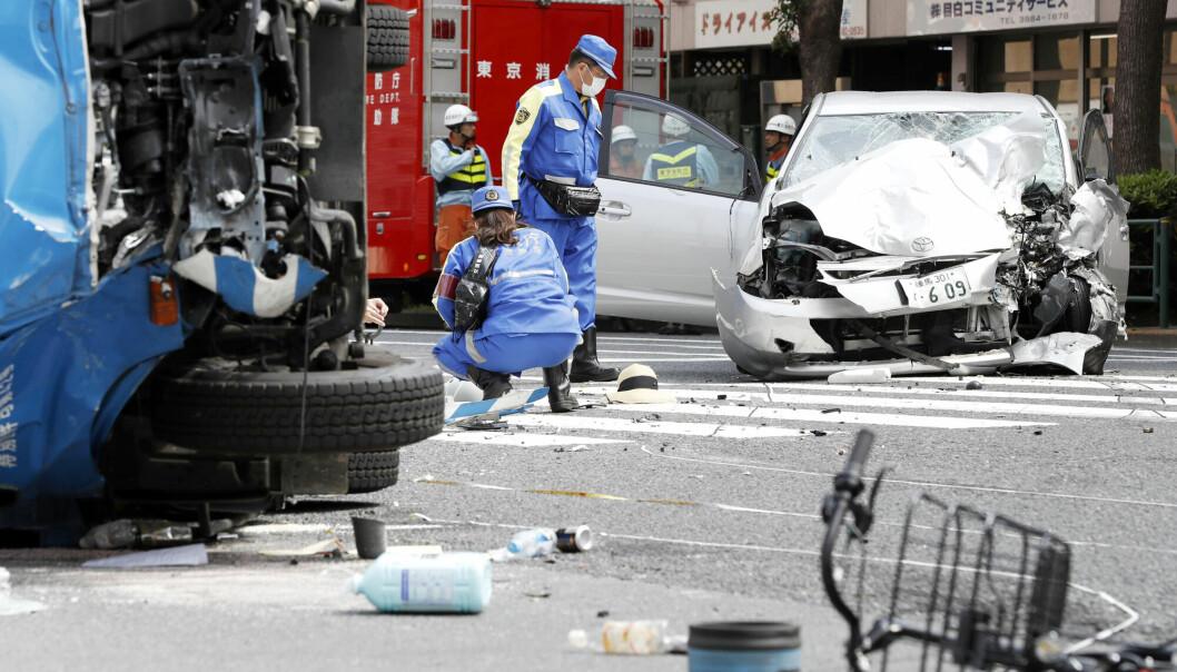 I høst ble en 90 år gammel japansk sjåfør dømt til fem års fengsel etter en dødelig bilulykke i en trafikkert gate i Tokyo, der en 3-åring og hennes mor ble drept. Saken vakte stor oppmerksomhet og førte til en intens debatt om at eldre bak rattet kan være et sikkerhetsproblem.
