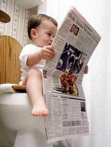 """""""Vi leser fortsatt aviser, men en lavere prosentandel enn tidligere setter seg ned med papiravisen."""""""