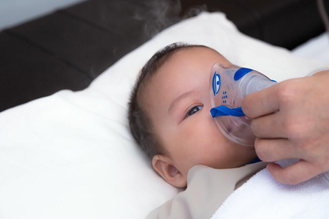 De aller fleste som blir lagt inn på sykehus med RS-virus, er barn under 1 år.
