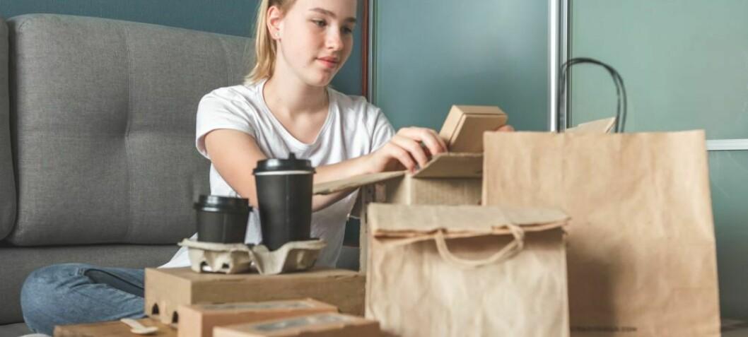 Hvilken emballasje til takeaway er mest bærekraftig?