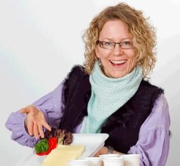 Susanne Bølling Johansen har studert forbrukernes aksept for lettprodukter. (Foto: Kjell J. Merok)