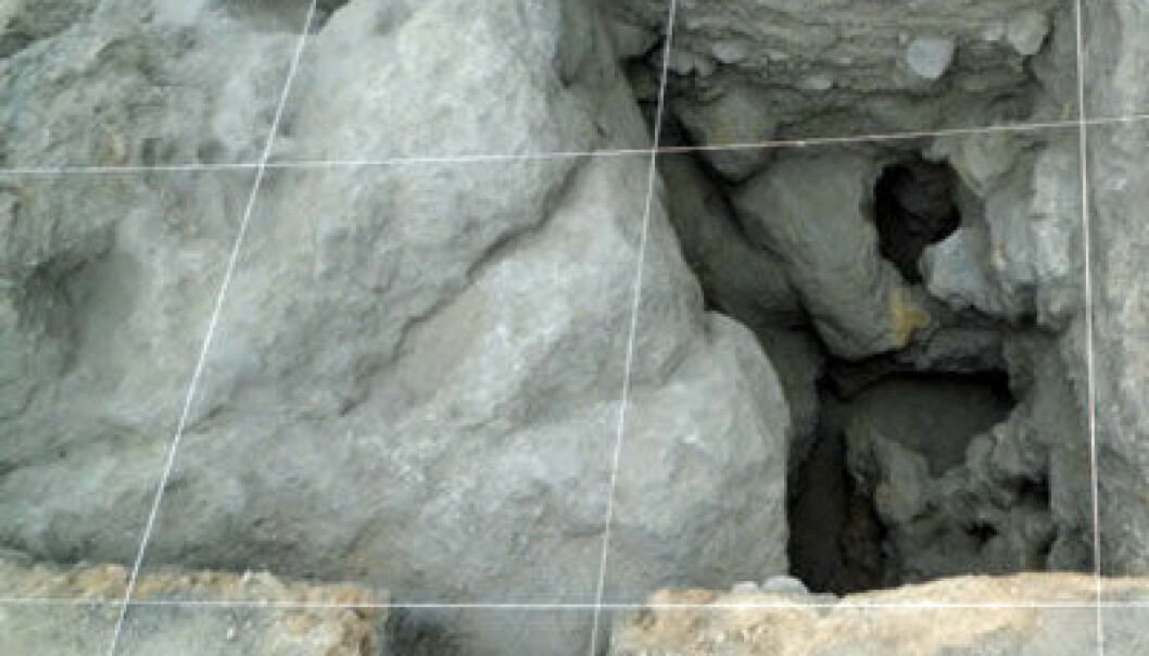 Gruve i Chile, San Ramón 15. Foto: Diego Salazar et. al., gjengitt med tillatelse fra Current Anthropology