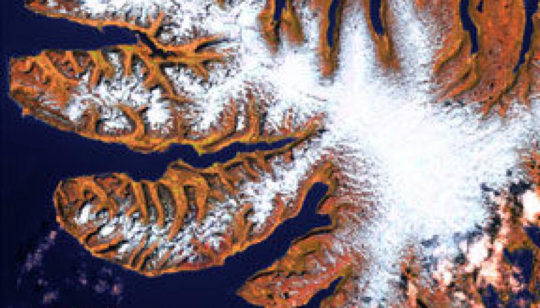 """""""Vestfjordene: Dette er Islands tynnest befolkede område bortsett fra høylandet, og består av flere halvøyer i nordvest. De representerer mindre en åttendedel av Islands landområder, men den forrevne kyststripa utgjør mer en halvparten av kyststripa på hele øya."""""""