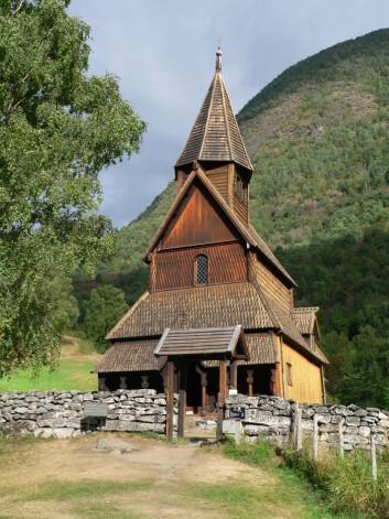 """""""Urnes stavkyrkje er landets eldste, og står på verdsarvlista til UNESCO. (Foto: Wikimedia Commons)"""""""