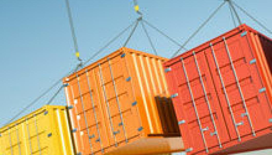 Ein stadig større del av globale utslepp kjem frå produksjon av varer og tenester for handel.Foto: Crestock