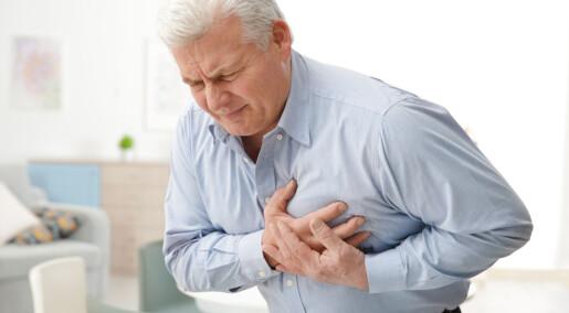 1.000 færre hjerteinfarkt registrert i 2020 enn året før