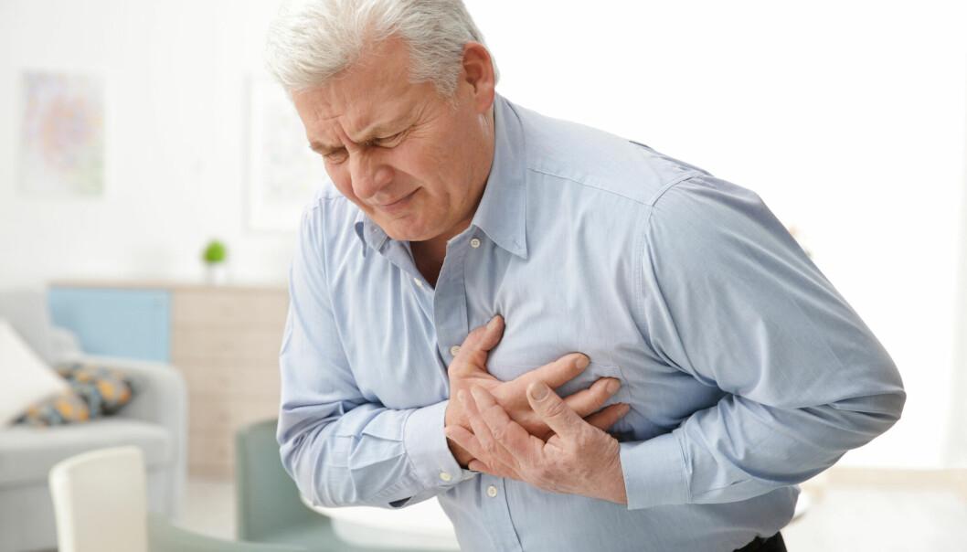 Færre fikk hjerteinfarkt i mars og april 2020.
