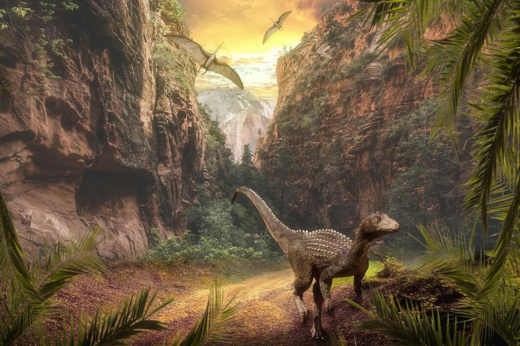 Verden kan ha blitt varmere og våtere, noe som kan bidratt til at dinosaurene kunne spre seg og bli dominerende.