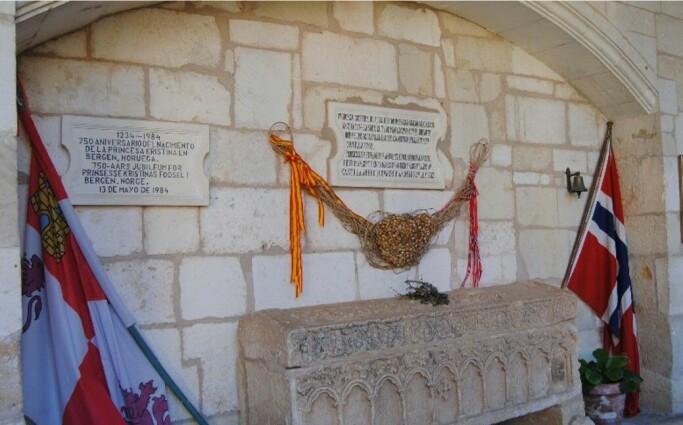 Kristinas angivelige gravsted, Covarrubias.