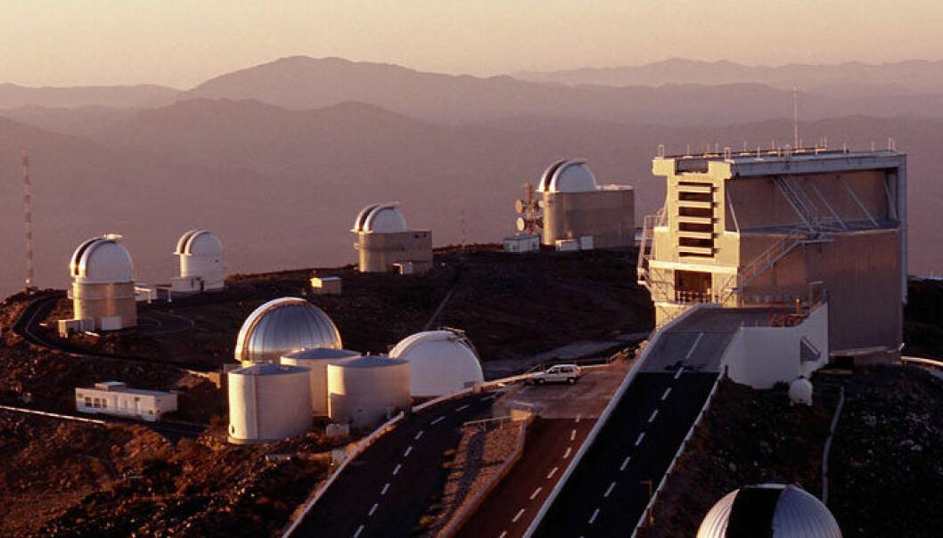 La Silla-observatoriet i Atacamaørkenen i Chile. (Foto: ESO)