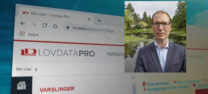 Fredrik Holth foreleser i faget plan- og bygningsrett.